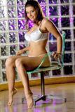 Erica Campbell Baby White Bra x15
