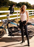 Jewel (and Ty Murray) ~ Harley Davidson Ad Campaign    x1mq