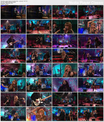 Grace Potter & The Nocturnals ~ Medicine ~ The Tonight Show with Jay Leno 1/19/11 (HDTV 1080i)