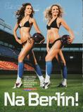 Tatiana Kucharova ( Miss World 2006 ) - Esquire scans 7x ( tiny football dress )