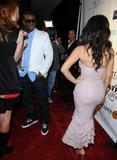Kim Kardashian pics tight dress curvy body cleavage 6th Annual Leather and Laces Celebration Tampa